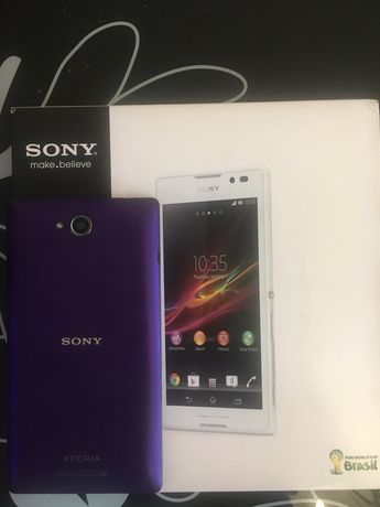Смартфон Sony Xperia C, на запчасти