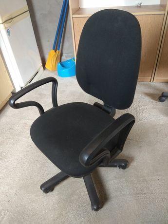 Krzesło obrotowe, fotel, czarny, jak nowy!!