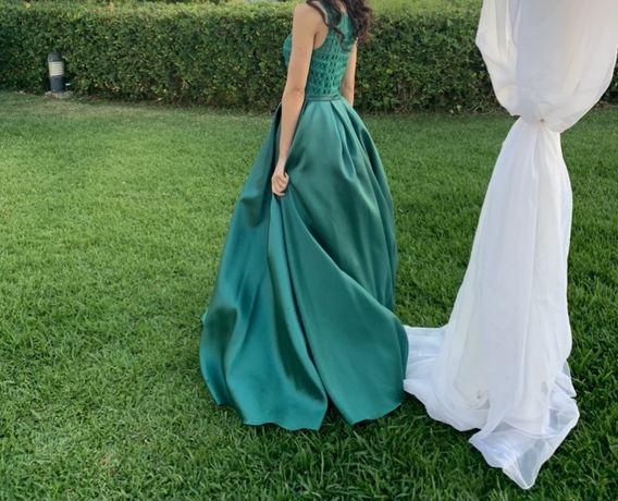 Vestido de cerimonia