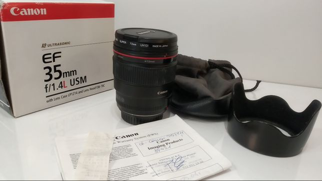 Obiektyw Canon 35mm f/1.4L USM