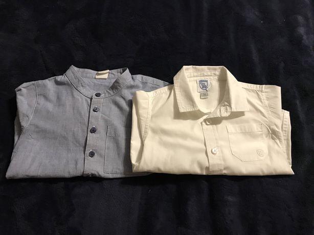 Рубашки chicco, h&m 86 и 92 размер
