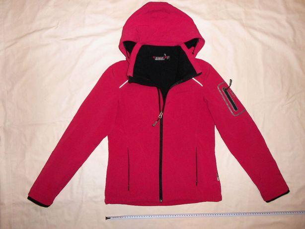 Куртка ветровка на флисе CMP Wind Protect Italy