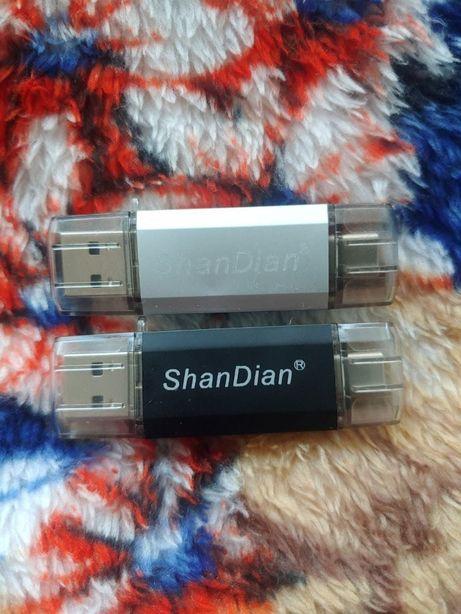 USB флеш накопичувач 32/64Гб, флеш пам'ять, флеш память, флешка