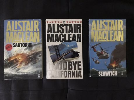 Alistair Maclean 3 - Livros Em Lingua Inglesa