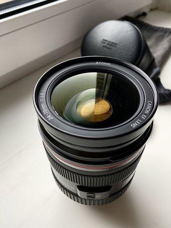 Об'єктив Canon EF 24-70 mm 2.8 USM.