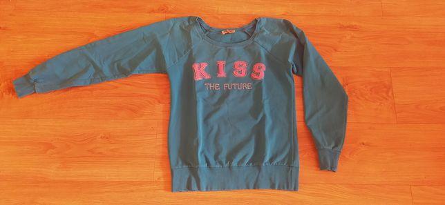 Niebieska bluza damska xs/s