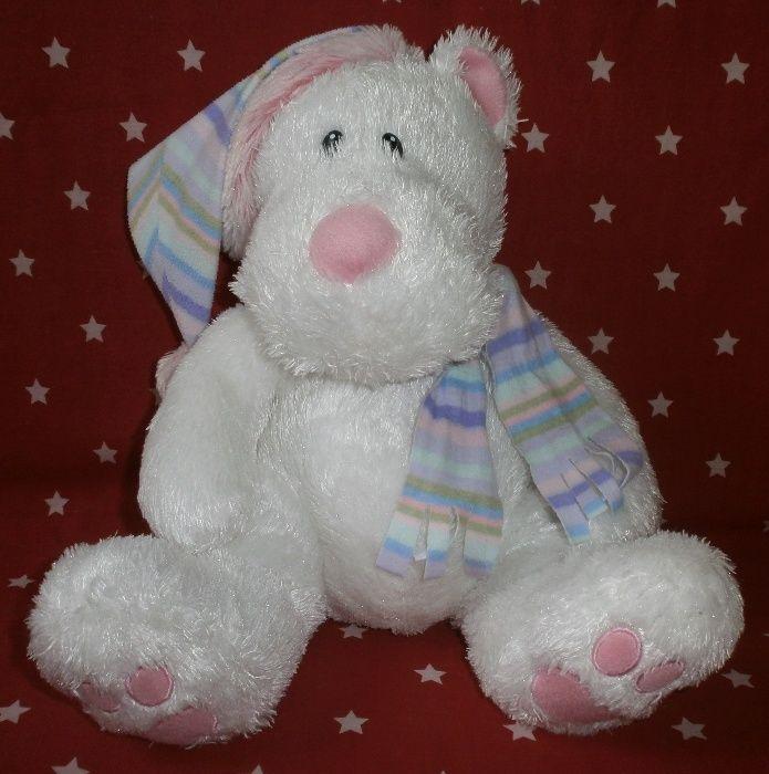 Мягкая игрушка белый медведь. Николаев - изображение 1