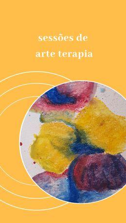 Sessões  de arte terapia
