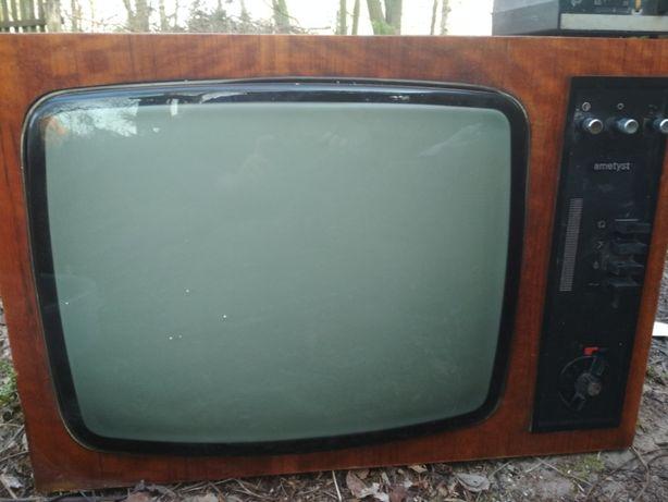 PRL Ametyst 1012 - telewizor zabytkowy