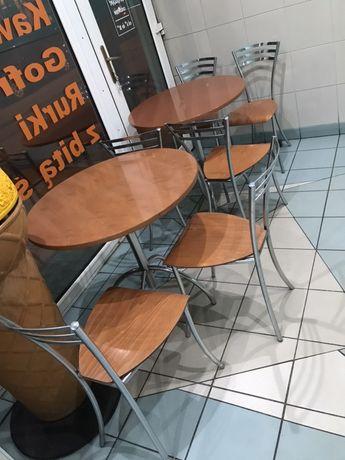 2 stoły i 6 krzeseł