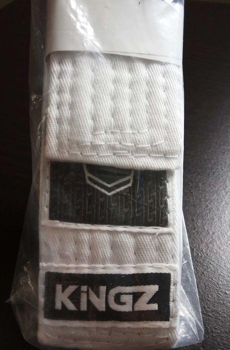 Biały pas do BJJ KINGZ, nowy! brazylijskie jiu-jitsu Otmuchów - image 1