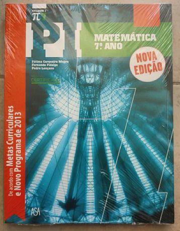 Manual Escolar de Matemática 7º Ano Letivo - PI - ASA (3 Volumes)