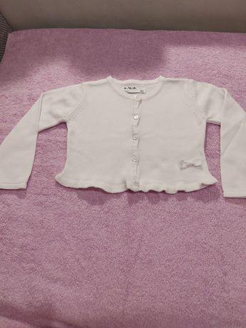 Sweterek dziewczęcy 5 10 15 rozm. 80