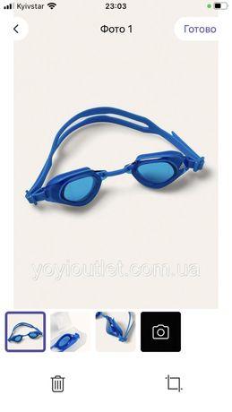 Очки для плаванья  адидас детские