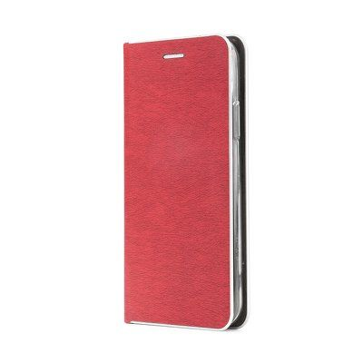 Capa Livro Horizontal Lmobile Iphone 12 Mini - Vermelho