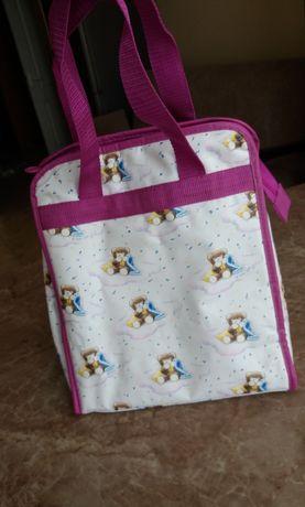 Термосумка, сумка дитяча  для іжі нова