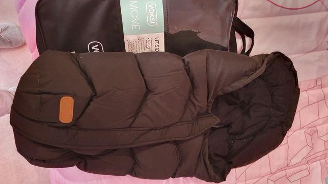 Saco de dormir para babycoque ou carrinho voksi