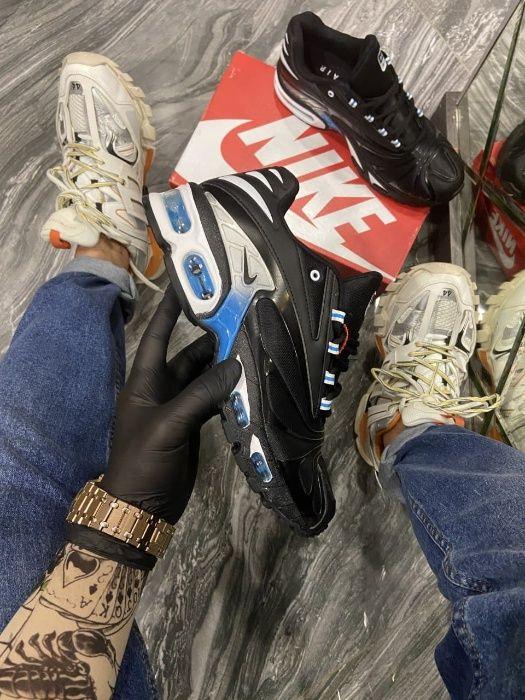 Кроссовки Nike Air Max TN Plus Black Blue | кросівки найк Мужские Киев - изображение 1
