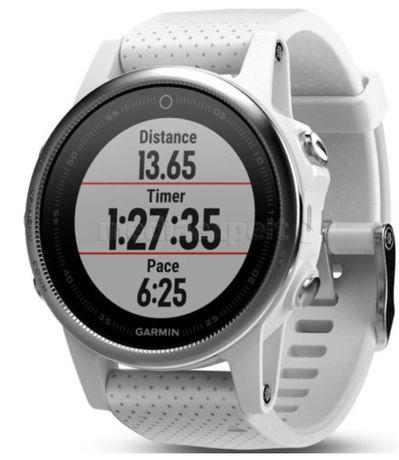 Zegarek triathlon smart watch GARMIN Fenix 5S Biały GPS HR NOWY gwar