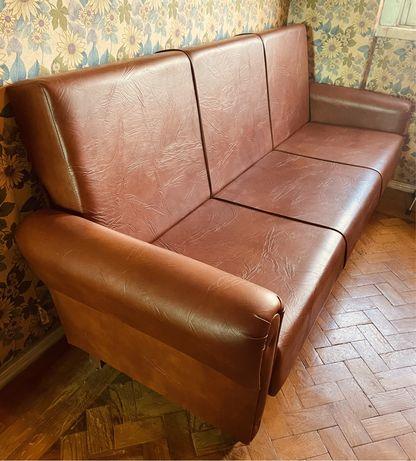 Como NOVO! Sofá vintage 3 lugares + poltrona