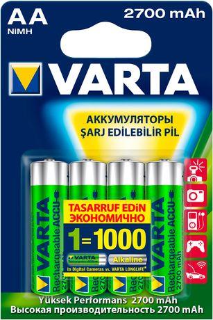 Аккумулятор универсальный Varta Prof. Accu AA 2700mAh 1 шт.-120 грн.