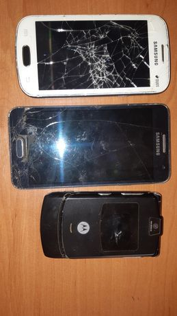 Телефоны на запчасти или ремонт samsung - A300h, s7390, motorolla v3