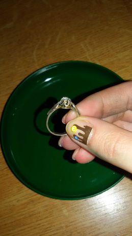 Кольца серебро 925 проба 16 и 17 размер