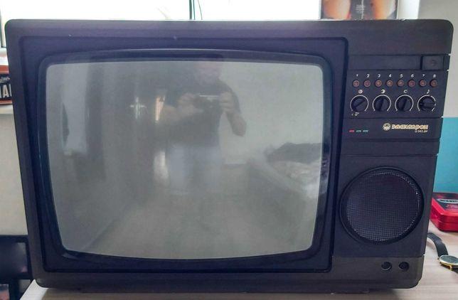 Telewizor PRL, Elektron C382, Telewizor retro, Retro elektronika