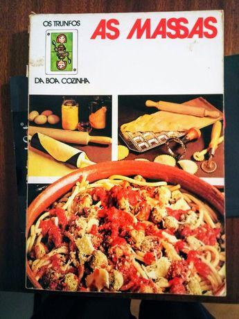 Livro de culinária vintage (1977) - As Massas