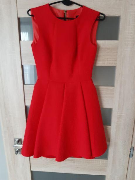 Sukienka 34 czerwona