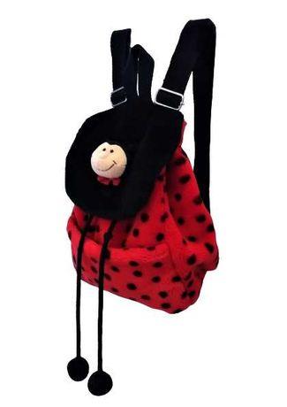 Plecak pluszowy NICI biedronka wys. 27 cm
