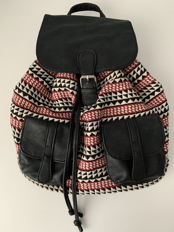 Plecak vintage/ boho Clockhouse C&A