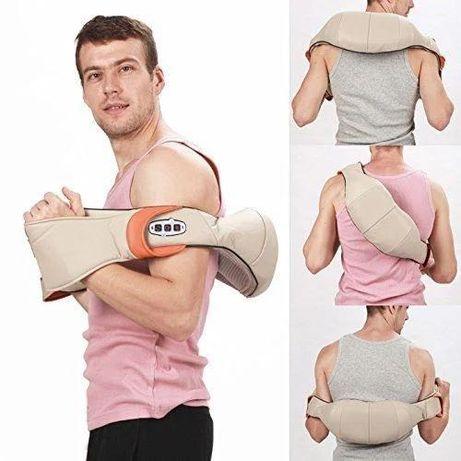 Роликовый массажер для спины и шеи,массаж тела
