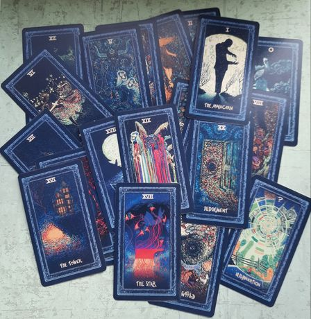 Prisma Vision Tarot. Карты таро. Новые.