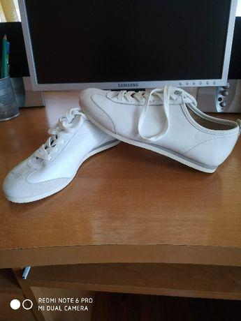 flip& flop damskie buty skóra naturalna