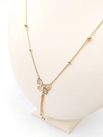 Złoty łańcuszek/celebrytka Pr. 585 Waga: 3,64 G Plus Lombard