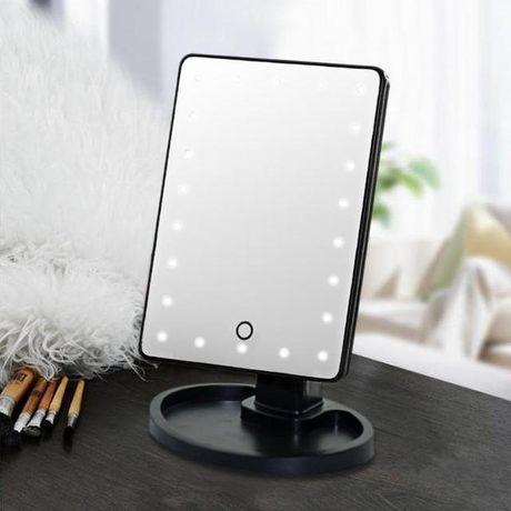 Настольное зеркало с подсветкой 16 LED Mirror для макияжа