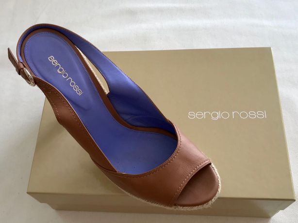 Sandalias Sergio Rossi tamanho italiano 40