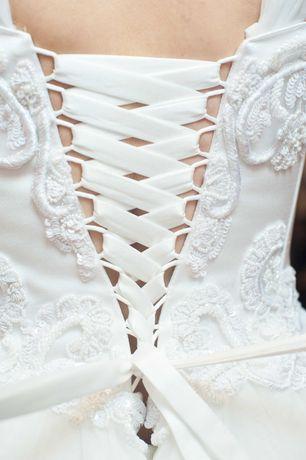 Весільна невінчана сукня