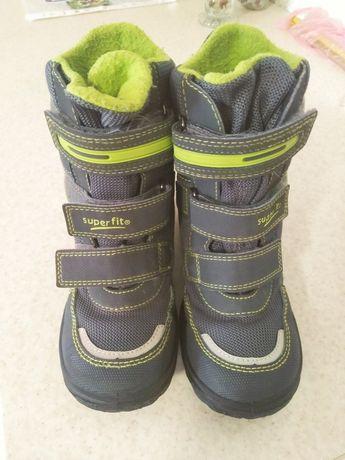 Демисезонные, зимние термо сапоги, ботинки на мальчика Superfit 30р.