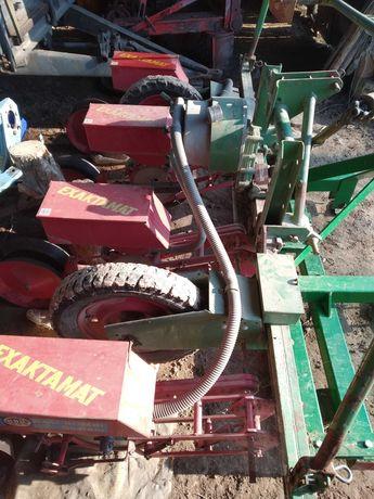 Siewnik do kukurydzy Rau kombi, 4 rzędy pneumatyczny