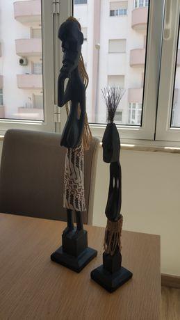 Estatuetas africanas