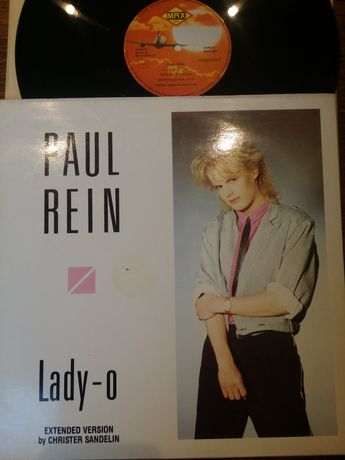 Paul Rein - maxisingiel winylowy euro/Italo disco