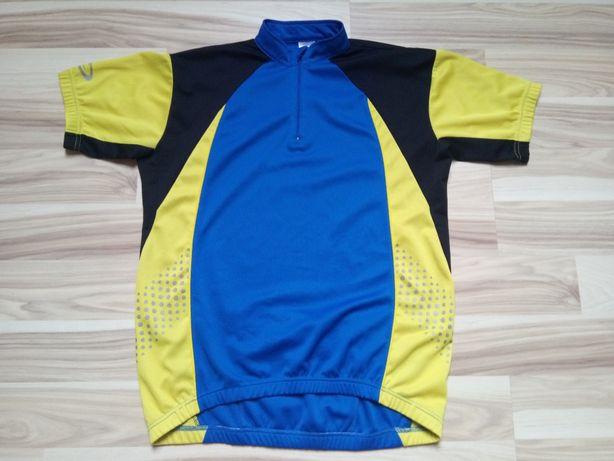 Koszulka rower kolarska do biegania run Crane SPORTS L męska ODBLASK