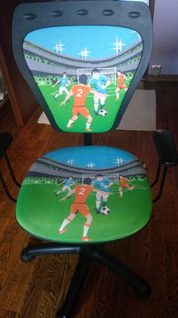 Krzesło, fotel obrotowy dziecięcy