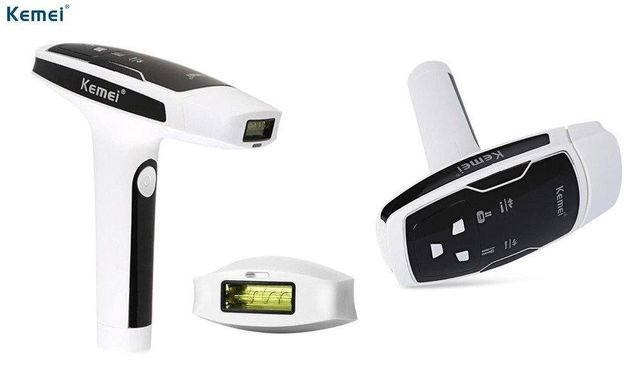 Эпилятор свето фото лазерный original size kemei km6812 для тела лица