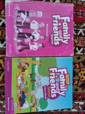 Family anda frends підручник і зошит для 1класу.