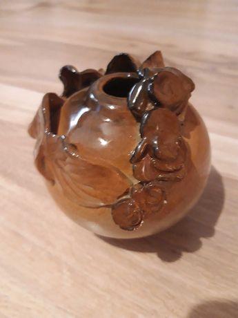 Wazon wazonik ceramiczny PRL