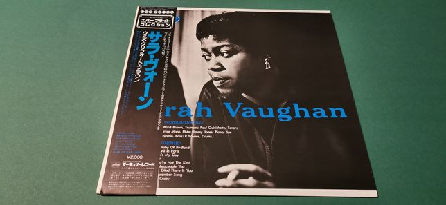 SARAH VAUGHAN - japan obi vinyl, płyta winylowa