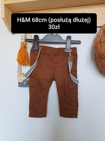Bojówki H&M 68cm